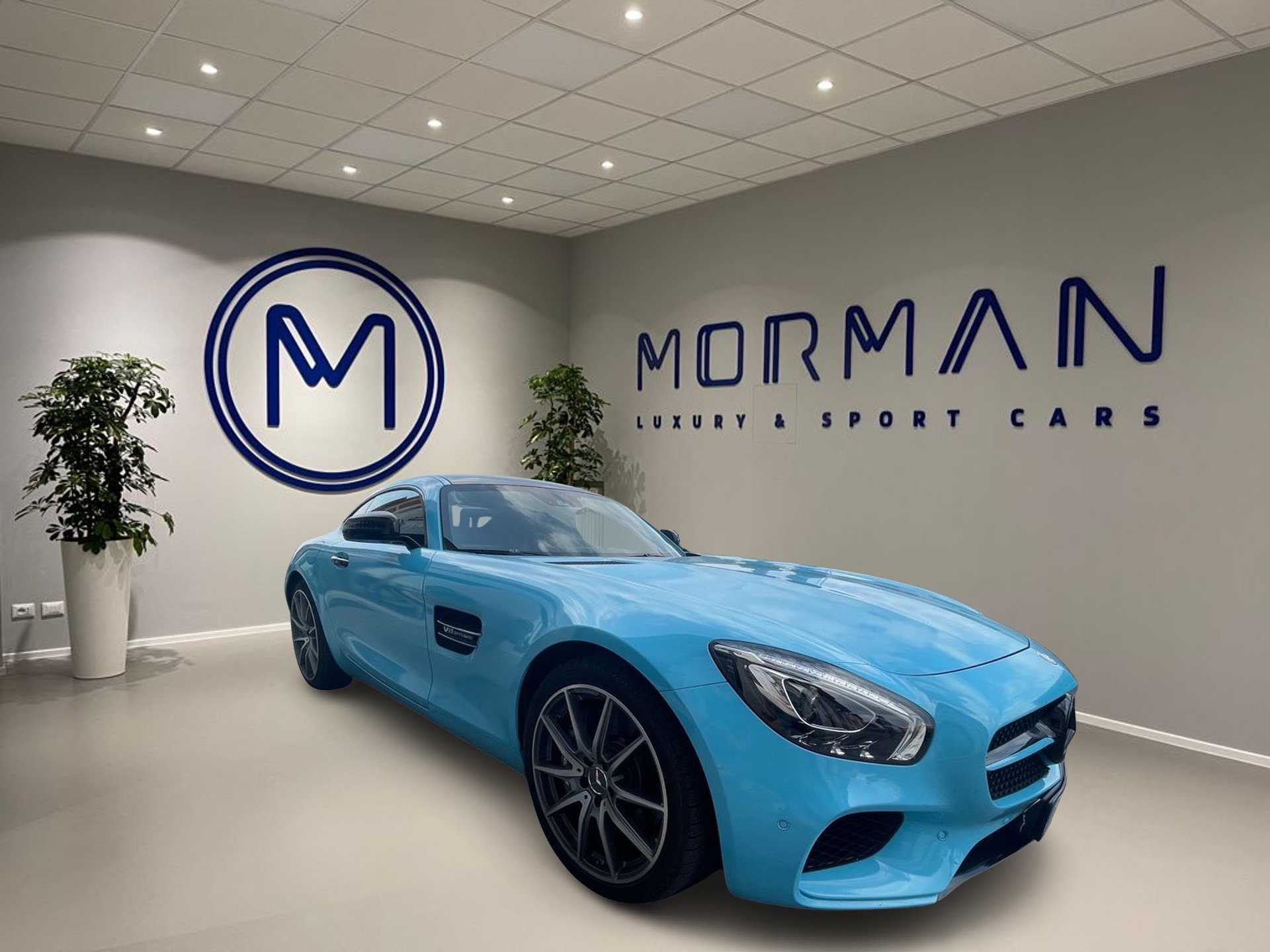 AMG GTS vendita auto di lusso