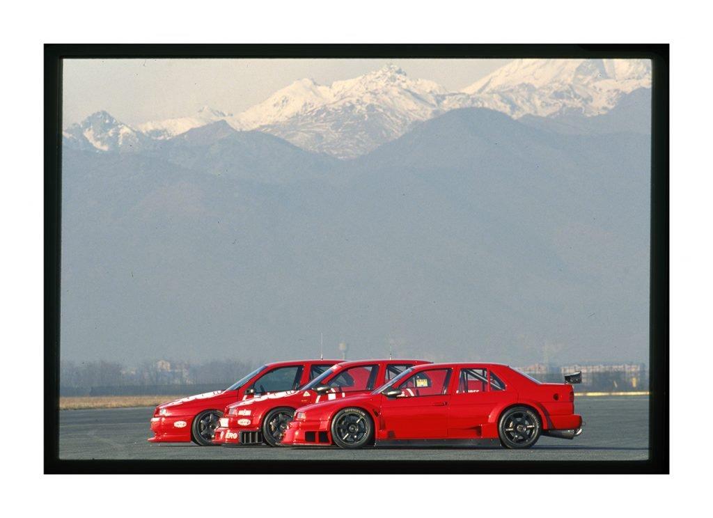 Dal museo storico Alfa Romeo la 155 V6 TI campione DTM