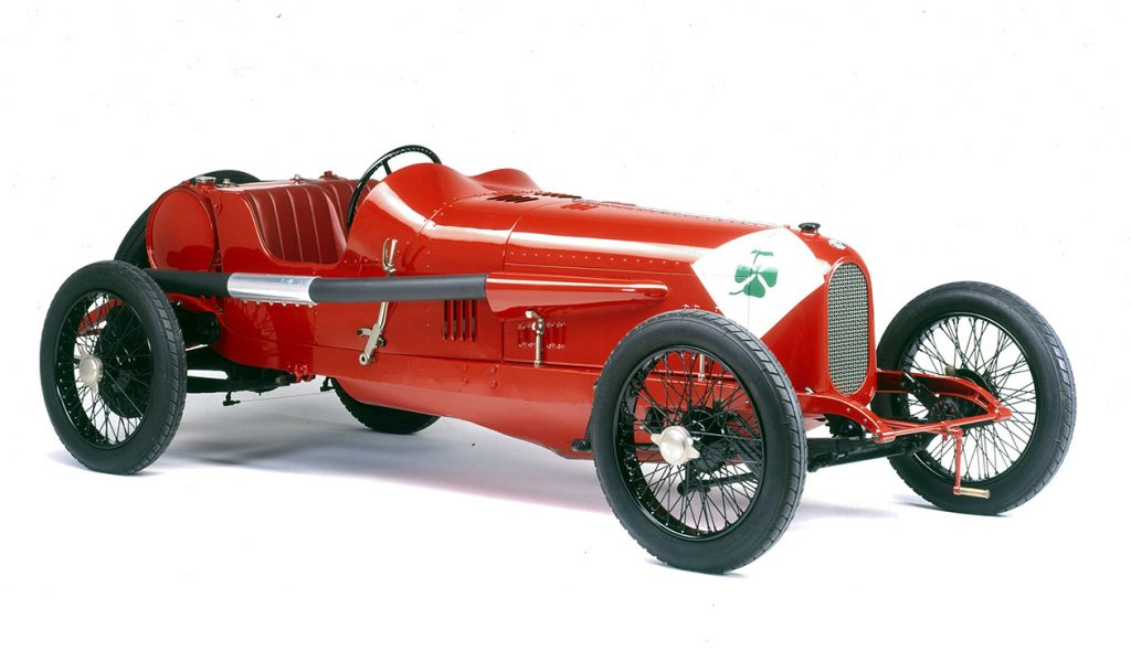 Dal museo storico Alfa Romeo la RL Targa Florio