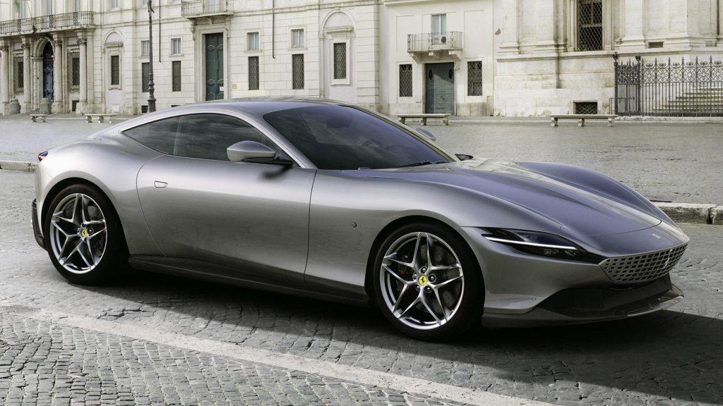 Ferrari Roma grigia