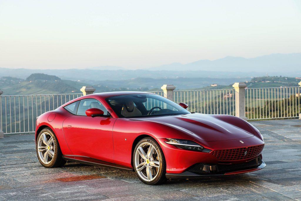 Ferrari Roma rossa