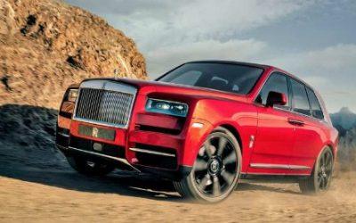 Rolls Royce CULLINAN. Altezze Reale off-road
